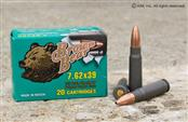 BROWN BEAR AMMO Ammunition 7.62 X 39
